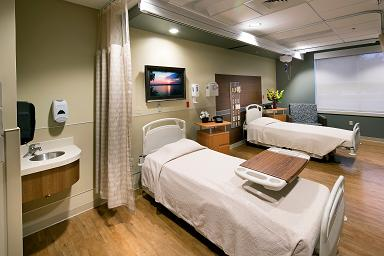 PVCH Double Patient Rooms HFG